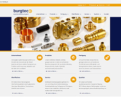 The Burgtec homepage